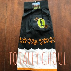 🧙‍♀️ NWT Skirt Apron for Halloween with Witch